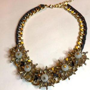 Floral Embellished necklace NWT